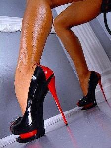 Бритые  ножки